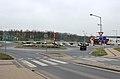 Horšovský Týn, Malé Předměstí, roundabout.jpg