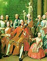 Horemans - The electoral Bavarian and Saxon family making music and playing cards2.jpg