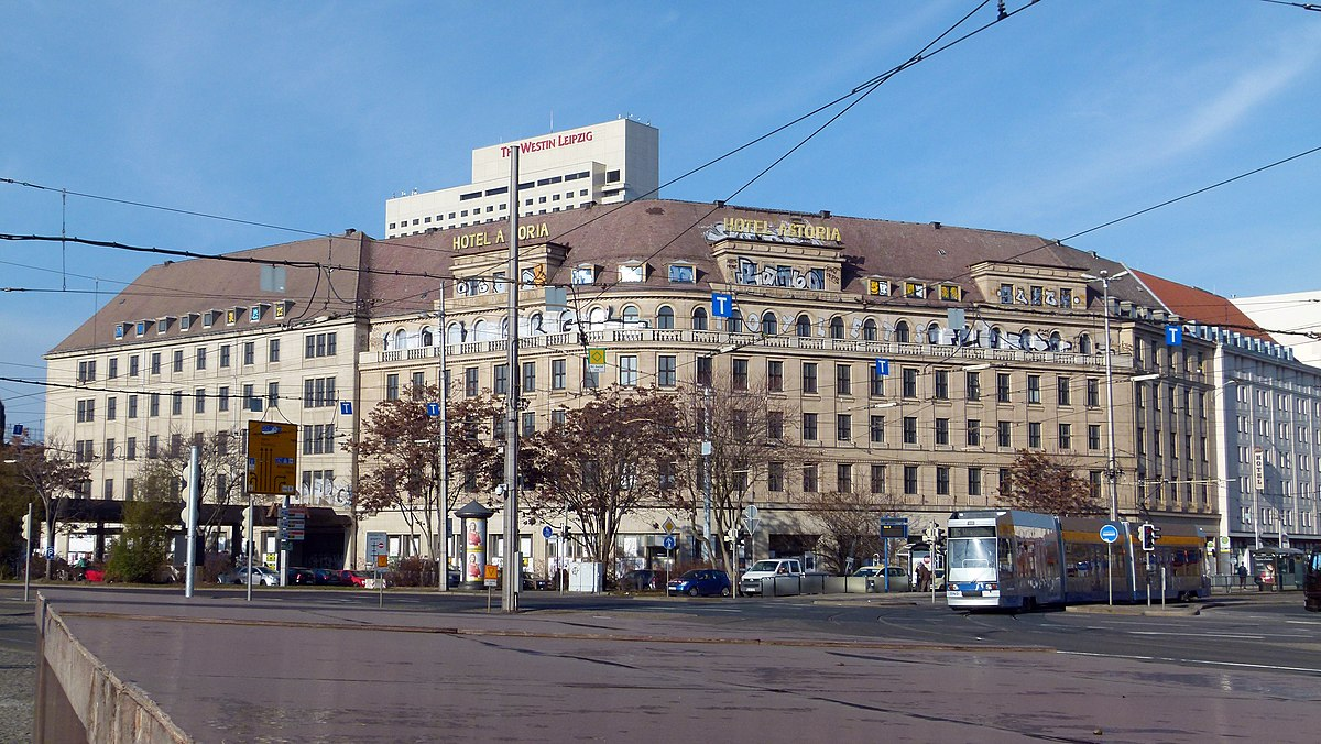 Hotel astoria leipzig wikipedia for Designhotel leipzig