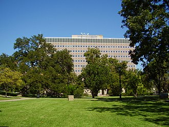 Texas Ethics Commission - The Sam Houston State Office Building includes the offices of the Texas Ethics Commission