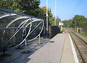 How Wood (Hertfordshire) railway station - Image: How Wood railway station geograph.org.uk 594708