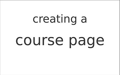 File:How to create a course page with the Education Program extension.webm