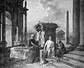 Hubert Robert - Architecture with Figures - KMS324 - Statens Museum for Kunst.jpg