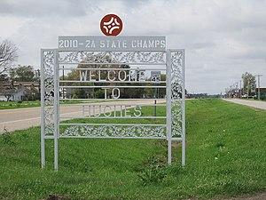Hughes, Arkansas - Image: Hughes AR 003