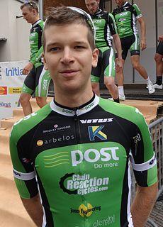 Aaron Gate New Zealand road cyclist