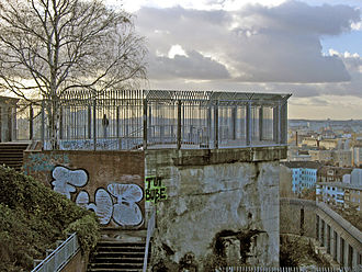 Battle in Berlin - Humboldthain Flak Tower in 2004