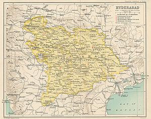 Nizam of Hyderabad - Hyderabad State in 1909