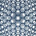Hyperbolic 3d hexagonal tiling.png