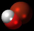 Hypobromous acid molecule spacefill.png