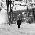 I'm in front of villa Antonescu (1993). (24574964281).jpg