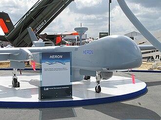 IAI Heron - IAI Heron on display at the Paris Air Show 2009
