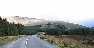 Tonelagee - Tonelagee from Wicklow Gap road heading east