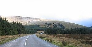 Tonelagee - Tonelagee from Wicklow Gap road heading east