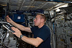 ISS-46 Tim Kopra at the Human Research Facility in the Columbus module.jpg
