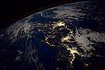 ISS-53 Honshu, Japan at night.jpg