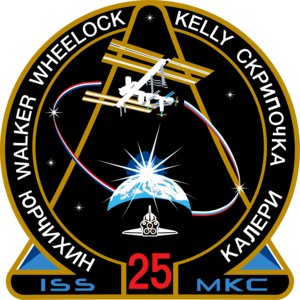 Shannon Walker - Image: ISS Expedition 25 Patch
