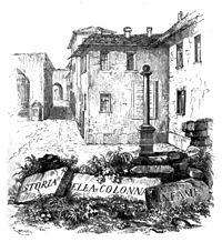 Storia della colonna infame cover