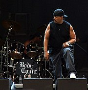 Ice-T performs at a Body Count concert in Prague, 2006