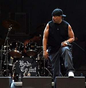 Ice-T - Ice-T with Body Count performing in 2006.