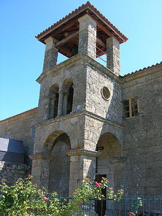 Sober, Lugo - Saint Michael's church, Rosende, Sober
