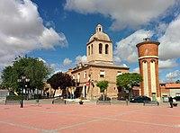 Iglesia de Santa María del Castillo y Ayuntamiento, Nueva Villa de las Torres 01.jpg