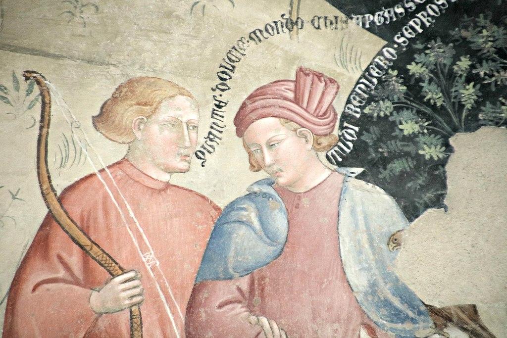 Il trionfo della morte di Bartolo di Fredi (1360 ca.) (particolare)