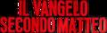 Il vangelo secondo Matteo movie red logo.png