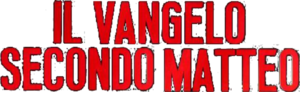 Il vangelo secondo Matteo movie red logo.png