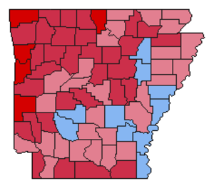 United States presidential election in Arkansas, 1984 - Image: Img.AR pre 1984