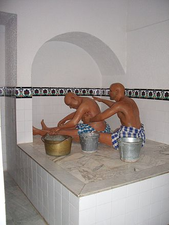 Culture of Tunisia - Reconstruction of a traditional steam bath