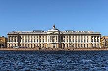Das gebäude der kunstakademie wurde 1764 89 nach einem entwurf von