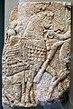 Impero neo-assiro, regno di Assurbanipal, soldati e cavalli in alta bardatura, 668-627 a.C., da ninive.jpg