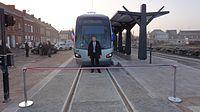 Inauguration de la branche vers Vieux-Condé de la ligne B du tramway de Valenciennes le 13 décembre 2013 (030).JPG