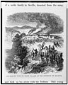 Indians set fire to their village at the approach of de Soto - J.W. Orr, N.Y. LCCN91794420.jpg