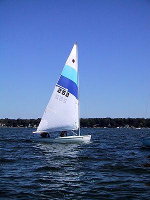 Inland cat - Image: Inland cat sailboat