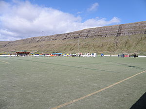 Inni í Dal - Inni í Dal on 2 May 2010, the match was between B71 Sandoy and FC Suðuroy in Vodafonedeildin.