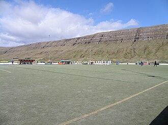 Inni í Dal - Inni í Dal on 2 May 2010, the match was between B71 Sandoy and FC Suðuroy in Vodafonedeildin.
