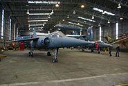 Inside hangar at Ysterplaat AFB