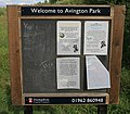 Interactive noticeboard, Avington - geograph.org.uk - 227856.jpg