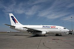 Boeing 737-200 der Interair South Africa