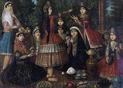Iranian Ladies Dancing Around a Samovar.jpg
