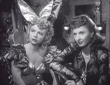 Cropped screenshot of Iris Adrian and Barbara ...