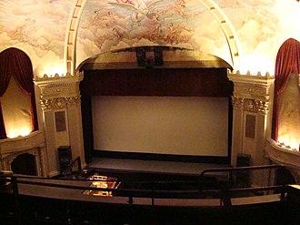 Ironwood Theatre - Interior of the auditorium