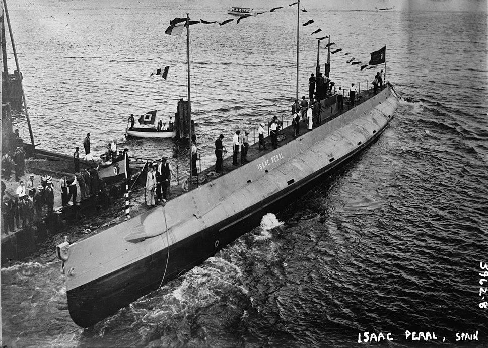 Isaac Peral submarine LOC ggbain 22650
