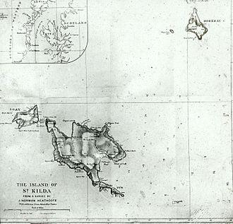 Norman Heathcote - Norman Heathcote's Map of St Kilda