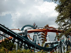 Dueling Dragons, Universal Studios Islands of Adventure, Orlando, Floryda, USA.