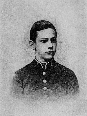 Ivan Kalyayev - Kalyayev at the age of 18.