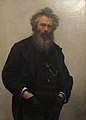 Ivan Kramskoi, ritratto di Ivan Shishkin, 1880.JPG
