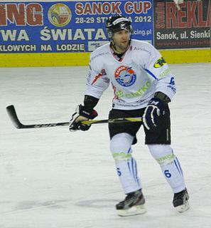 Ivo Kotaška Czech ice hockey player