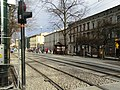 Józefa Dietla - new Stradom tram stop 2020.jpg